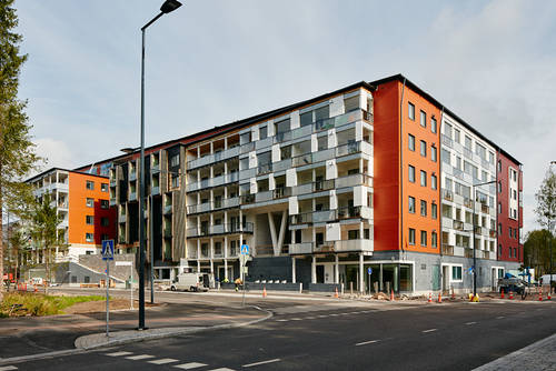 The largest wooden apartment building in Europe