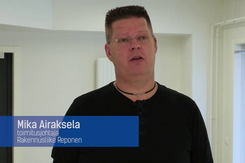 Professionals tell you why they choose Vallox ventilation (video in Finnish)